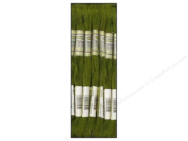 Sullivans Six-Strand Embroidery Floss 8.7 yd. Avocado Green