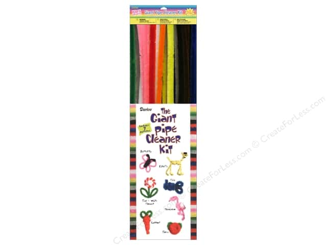 Chenille Stems by Darice 15 mm x 20 in. Assorted Color 40 pc.