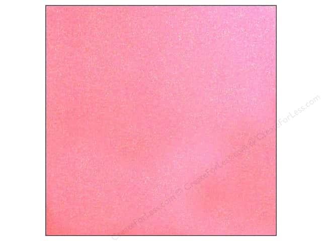 American Crafts 12 x 12 in. Cardstock Glitter Lipgloss (15 sheets)