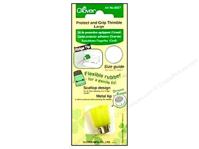 Clover Protect & Grip Thimble - Large