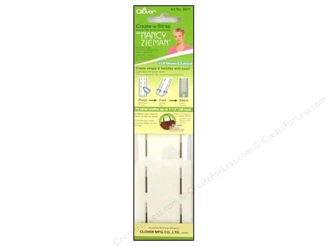 Clover Create A Strap with Nancy Zieman Interfacing 1 1/4 in. x 2.2 yd.