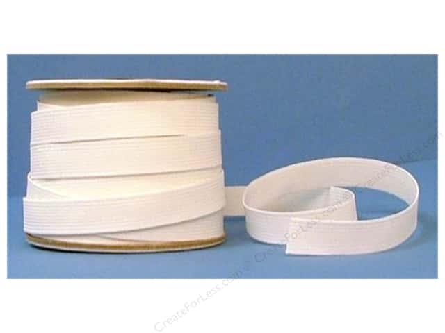Conrad Jarvis 20 Strand Elastic Latex Free 3/4 in x 30 yd White (30 yards)
