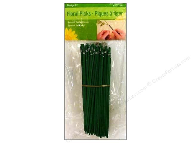 FloraCraft Floral Picks Wired 6 in. 120 pc