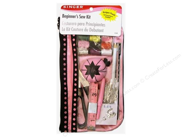 Singer Sewing Kits Beginners with Designer Pouch 130pc