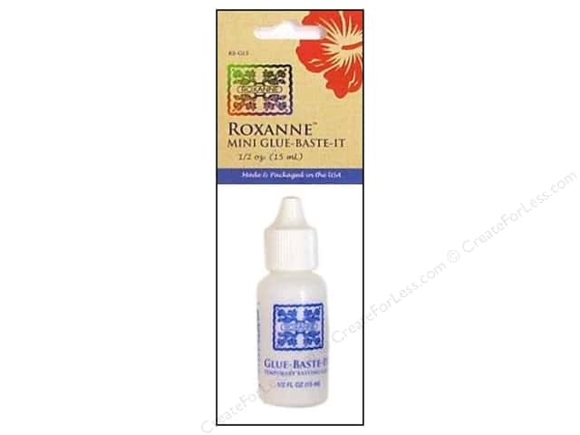 Roxanne Glue-Baste-It Temporary Basting Glue .5 oz.