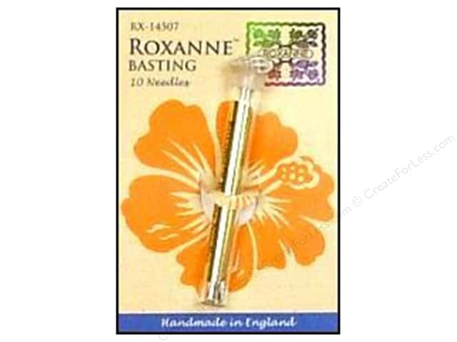 Roxanne Hand Needles Extra Long Basting 10 pc