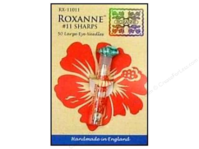Roxanne Hand Needles Applique/Sharps Large Eye 50pc Size 11