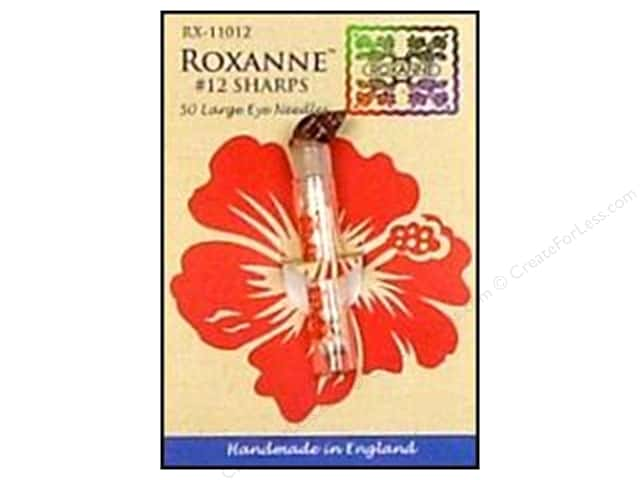 Roxanne Hand Needles Applique/Sharps Large Eye 50pc Size 12