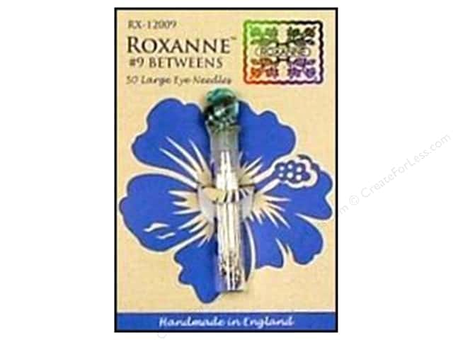 Roxanne Hand Needles Quilting/Betweens Large Eye 50 pc Size 9