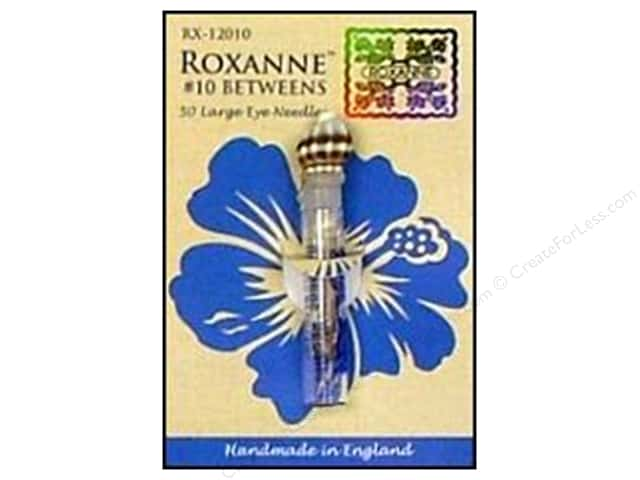 Roxanne Hand Needles Quilting/Betweens Large Eye 50pc Size 10