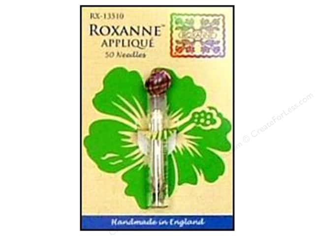 Roxanne Hand Needles Applique Large Eye 50pc