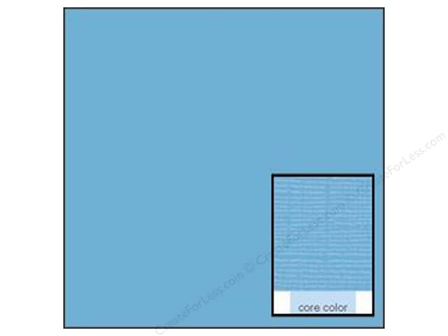 Coredinations Cardstock 12 x 12 in. Core Ess Nassau Blue