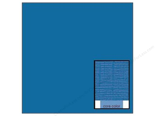 Coredinations Cardstock 12 x 12 in. Core Ess Marine Blue (20 sheets)