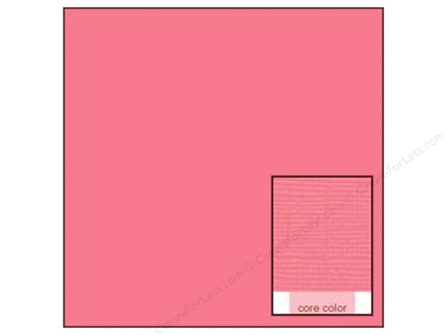 Coredinations Cardstock 12 x 12 in. Core Ess In The Pink (20 sheets)