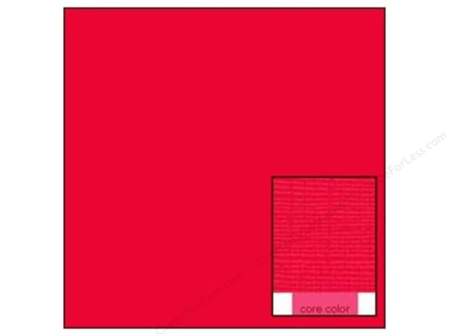 Coredinations Cardstock 12 x 12 in. Core Ess Raspberry (20 sheets)