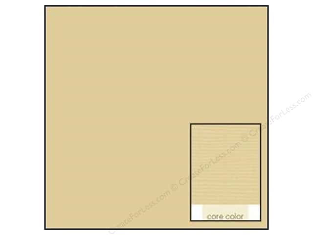 Coredinations Cardstock 12 x 12 in. Core Ess Coconut Cream (20 sheets)