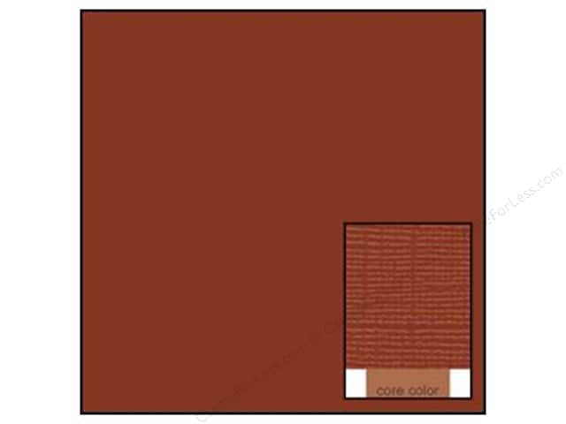 Coredinations Cardstock 12 x 12 in. Core Ess Chocolate Mocha (20 sheets)