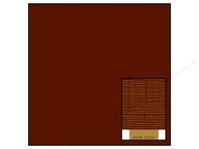 Coredinations Cardstock 12 x 12 in. Core Ess French Roast (20 sheets)