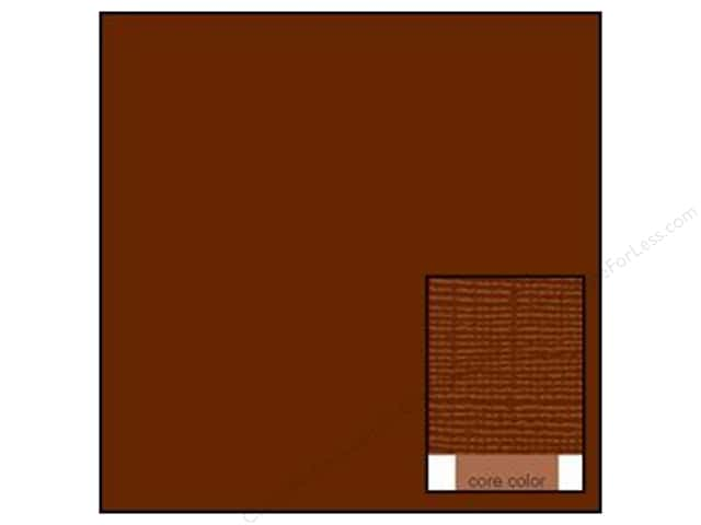 Coredinations Cardstock 12 x 12 in. Core Ess Brownie (20 sheets)