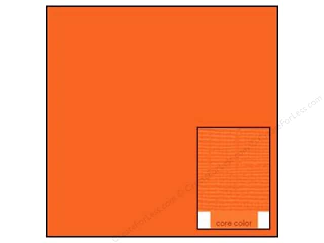 Coredinations Cardstock 12 x 12 in. Core Ess Tangerine (20 sheets)