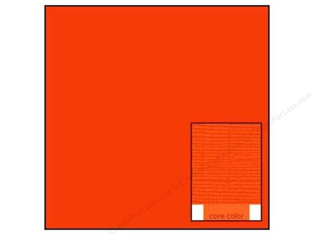 Coredinations Cardstock 12 x 12 in. Core Ess Orange (20 sheets)