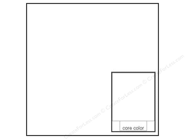 Coredinations Cardstock 12 x 12 in. Core Ess Snowflake (20 sheets)