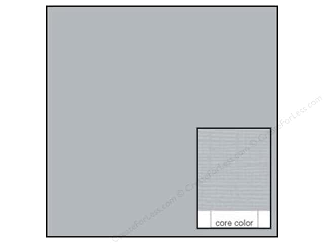 Coredinations Cardstock 12 x 12 in. Core Ess Stormy Gray