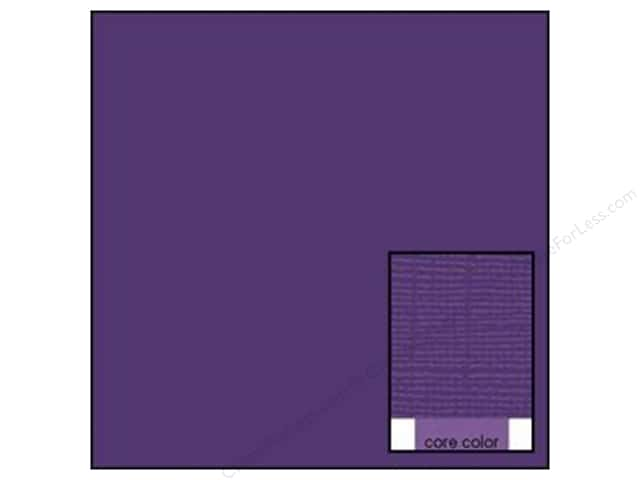 Coredinations Cardstock 12 x 12 in. Core Ess Forget Me Not (20 sheets)