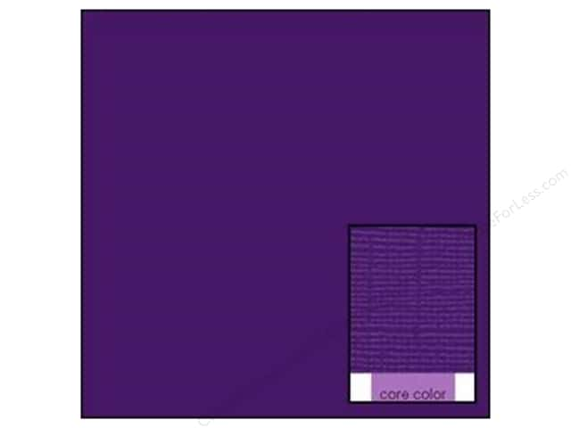 Coredinations Cardstock 12 x 12 in. Core Ess Purple Majesty (20 sheets)