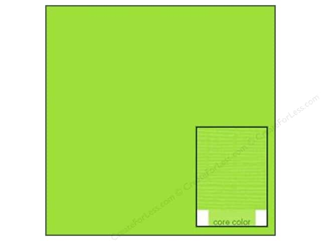 Coredinations Cardstock 12 x 12 in. Core Ess Kiwi (20 sheets)