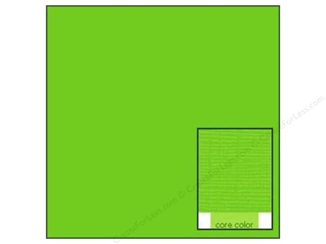 Coredinations Cardstock 12 x 12 in. Core Ess Lime