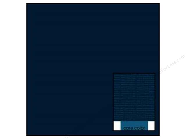 Coredinations Cardstock 12 x 12 in. Core Ess Navy (20 sheets)