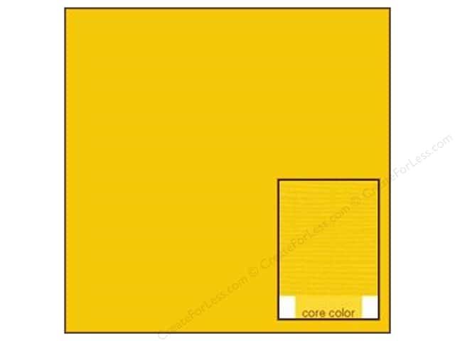Coredinations Cardstock 12 x 12 in. Core Ess Dandelion (20 sheets)