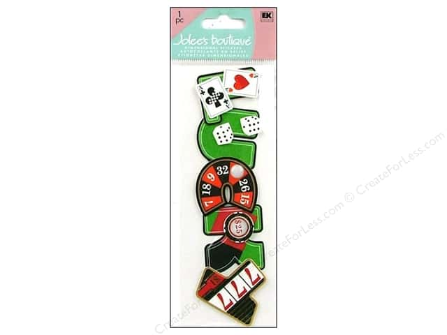 Jolee's Boutique Stickers Title Wave Lucky