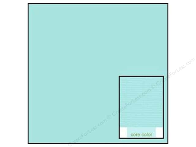 Coredinations Cardstock 12 x 12 in. Core Ess Bluebell (20 sheets)