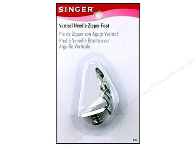Singer Notions Zipper Foot For Vertical Needle
