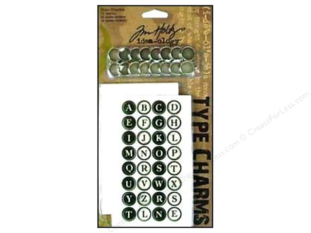 Tim Holtz Idea-ology Typewriter Keys 16pc