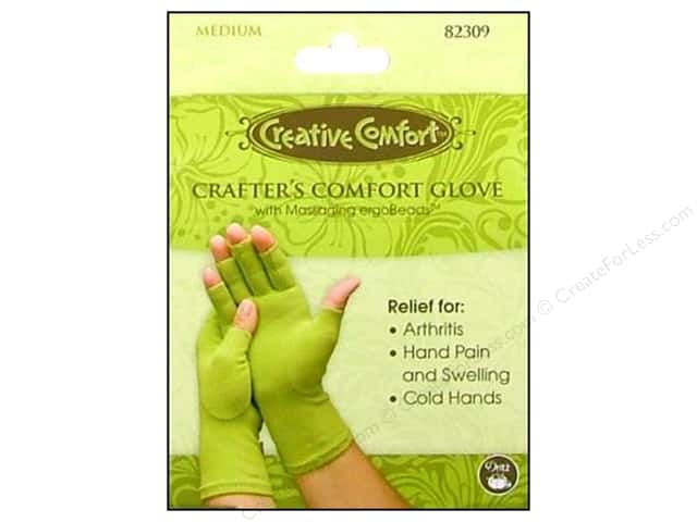 Crafter's Comfort Glove by Creative Comfort Medium