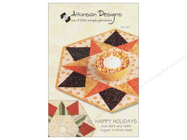 Atkinson Designs Happy Holidays Pattern