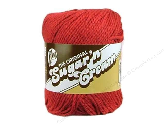 Sugar 'n Cream Yarn 120 yd. #1530 Country Red