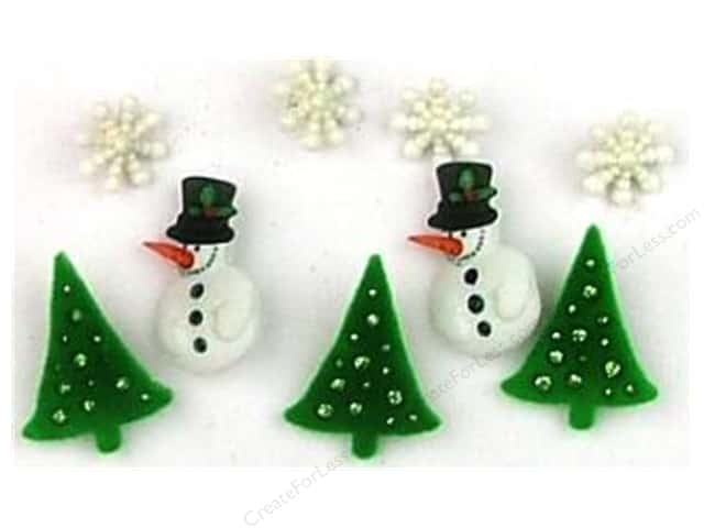 Jesse James Dress It Up Embellishments Christmas Collection Christmas Past