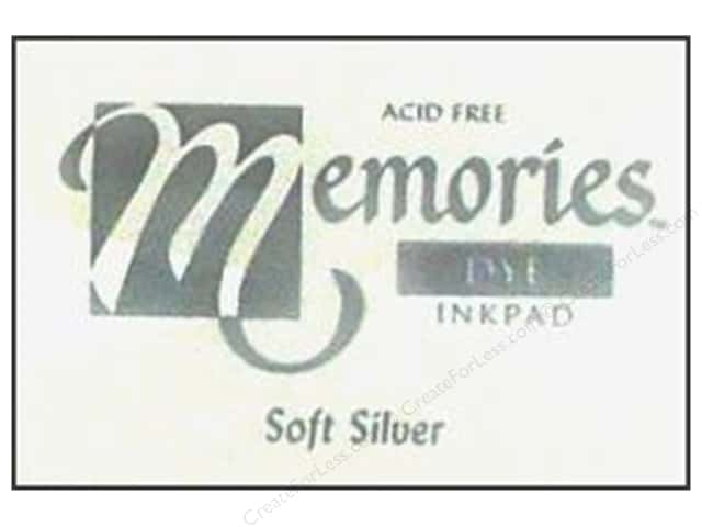 Stewart Superior Memories Dye Ink Pad Large Soft Silver