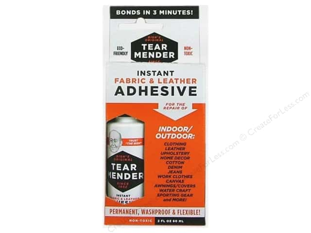 Val-A Tear Mender Adhesive Fabric & Leather 2oz
