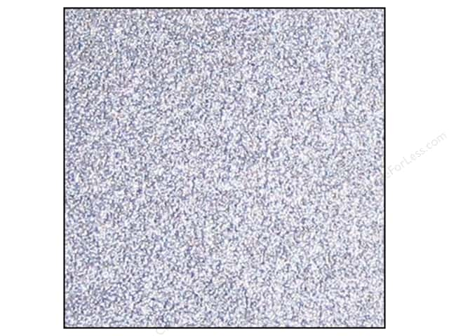 Best Creation 12 x 12 in. Cardstock Glitter Silver (15 sheets)