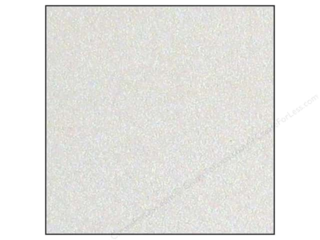 Best Creation 12 x 12 in. Cardstock Glitter White (15 sheets)