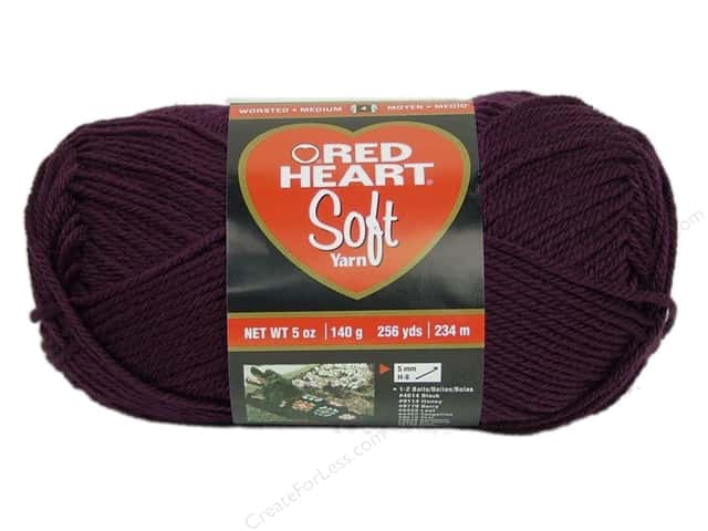 Red Heart Soft Yarn 256 yd. #3729 Grape