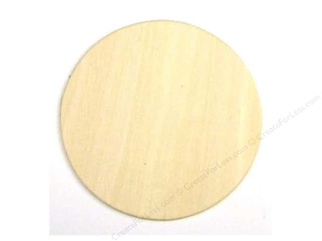 Darice Unfinished Wood Shape 3 1/4 in. Circle