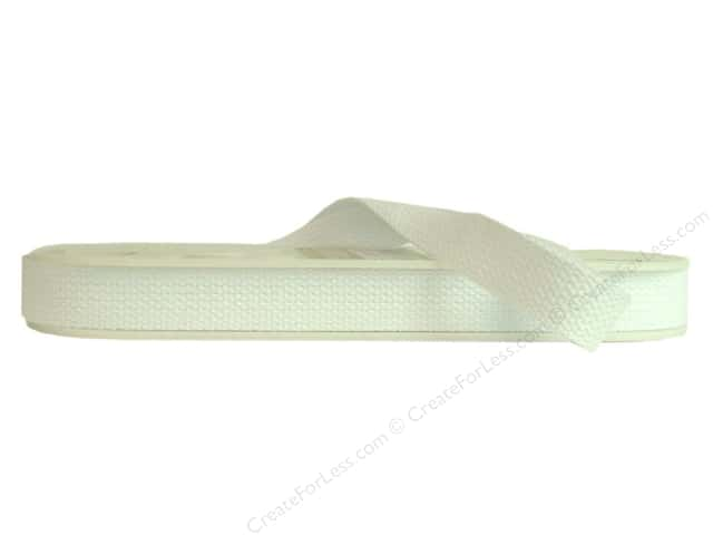 "Wrights Tape Cotton Webbing 1"" White 10yd (10 yards)"