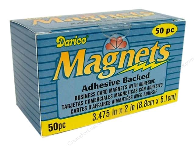 Darice Magnet Business Cards 50 pc.