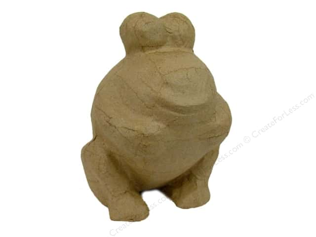 PA Paper Mache Frog Bank 6 1/2 in.